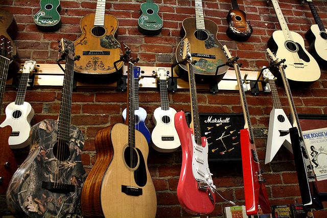 Types-guitare
